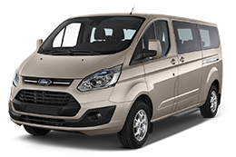 Leasing FORD TOURNEO CUSTOM SHUTTLE en loa ou lld